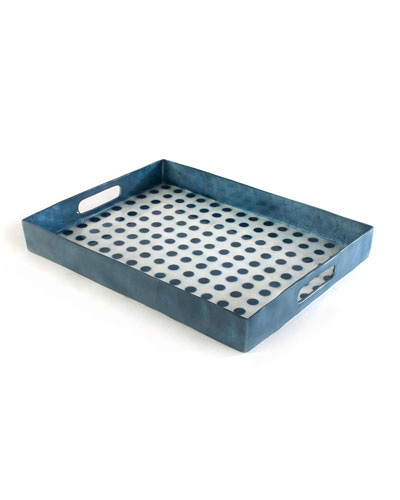 Royal Dot Serving Tray