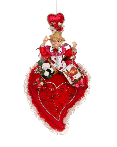 Valentine Heart W/ Elf  Collectible - 27