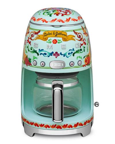 Dolce Gabbana x SMEG Drip Coffee Machine