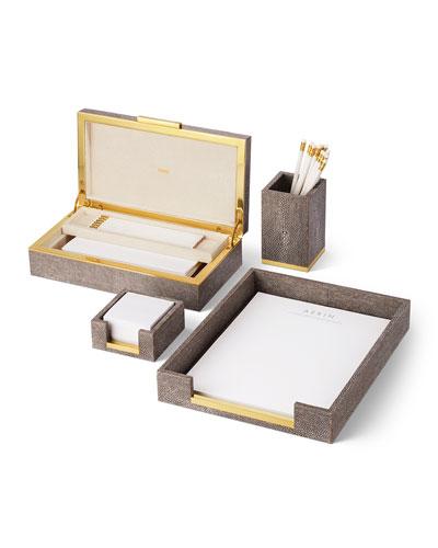 Shagreen Paper Tray