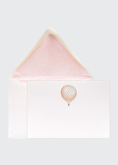Hot Air Balloon Boxed Stationary Set