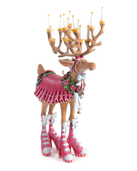Image 1 of 1: Dash Away Donna Reindeer Figure