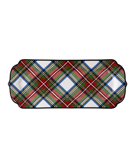 Juliska Stewart Tartan Hostess Tray Bergdorf Goodman