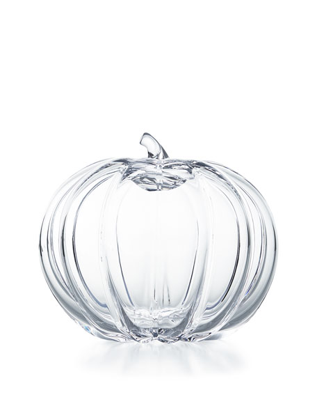 Image 1 of 1: Large Glass Pumpkin