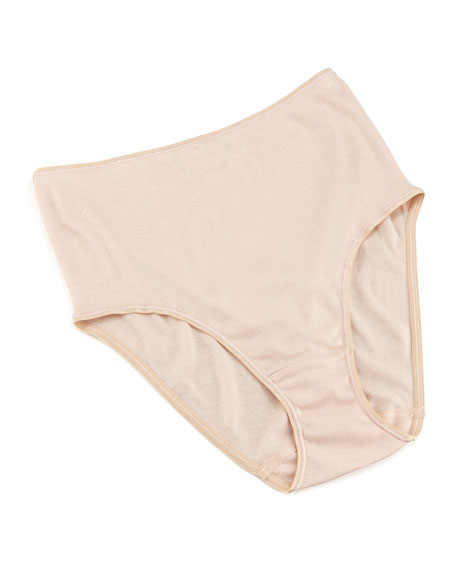 Cotton Seamless Briefs, Skin
