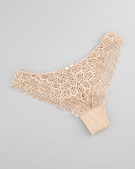 Merci Tanga Panties, Nude