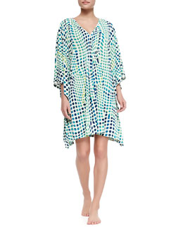 Natori Kismet Short Sleep Tunic, Maritime Blue
