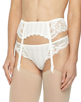 Amour Lace Garter Belt