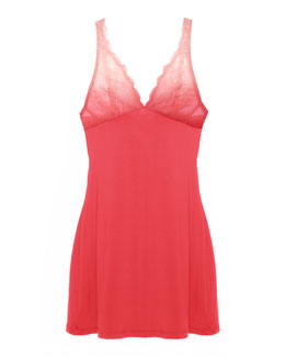 Trenta Ombre Lace Chemise, Coral/Rosa Sorbet