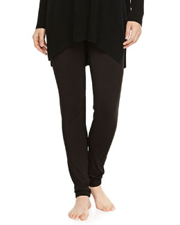 Liquid Jersey Basic Leggings