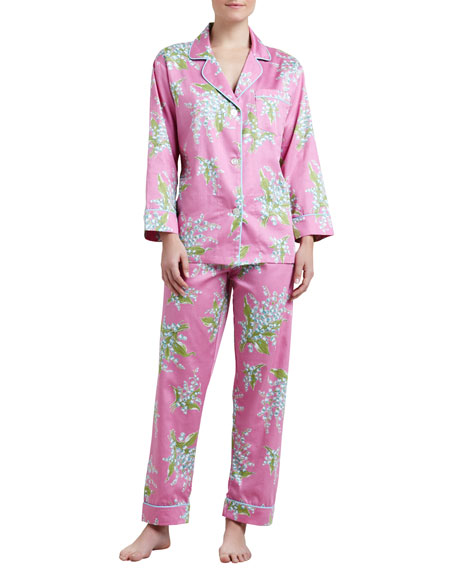 Bedhead Lily of the Valley Classic Sateen Pajamas