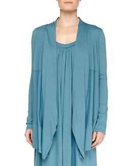 Pima Cotton Cozy Lounge Cardi