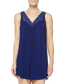 Delicate Lace Short Chemise, Royal Navy