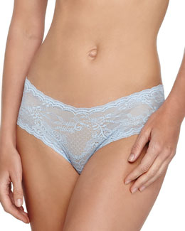 Trenta Low-Rise Lace Hotpants, Caspian Sea