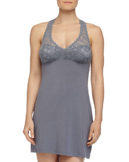 Never Say Never Racie Lace Babydoll, Petra Gray