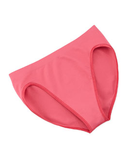 Touch Feeling High-Cut Briefs, Deep Pink