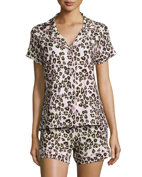 8eaf9d904d Bedhead Call Of The Wild Printed Shorty Pajama Set