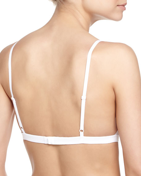 Dolce Soft-Lace Bra, White