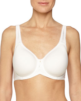 Basic Beauty Contour Spacer Bra, White