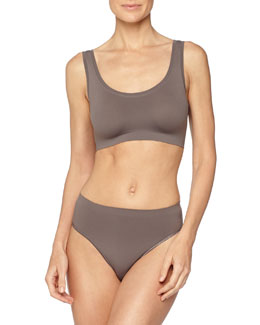 Touch Feeling Crop Top, Sparrow