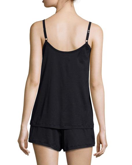 Juliet Short Pajama Set, Black