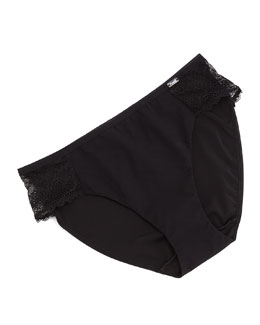 Mademoiselle Bikini Brief, Black