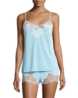 Enchant Nightie Set, Light Blue