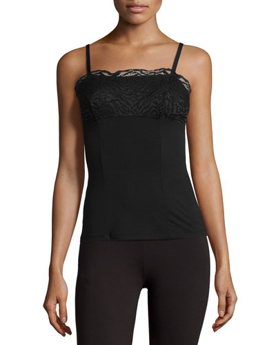 Orsay Lace Camisole, Black