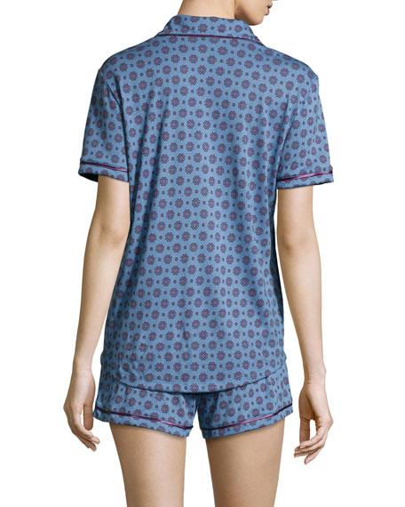 Amore Printed Jersey Pajama Set