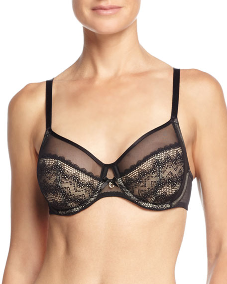 Chantelle Revele Moi Four-Part Underwire Bra