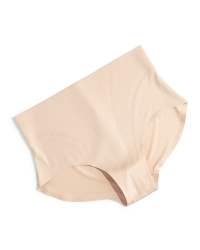 Retro High-Waist Bikini Briefs