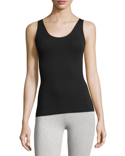 In & Out Scoop-Neck Tank