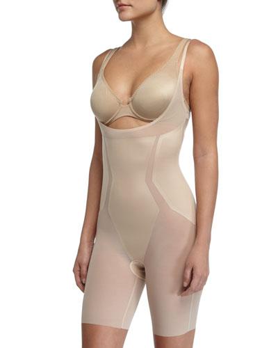 Haute Contour Open-Bust Bodysuit