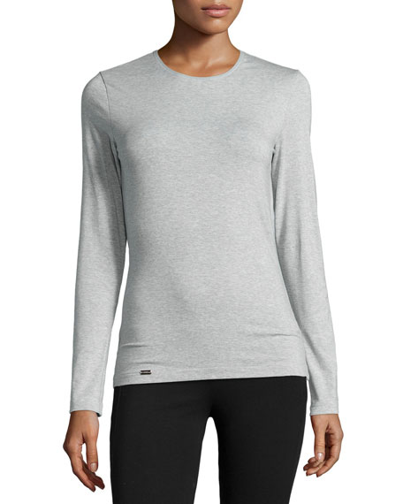New Project Long-Sleeve Lounge Top