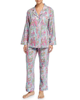 Sergeant Pepper Pajama Set, Turquoise, Women's