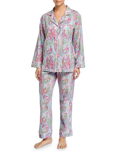 Sergeant Pepper Pajama Set, Turquoise