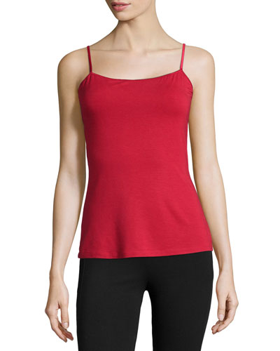 Talco Stretch Camisole, Poinsettia