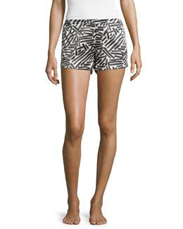 Mila Silk Pajama Shorts
