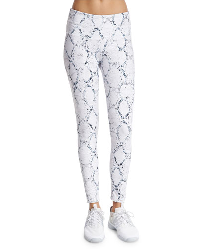 Pacific Full-Length Sport Leggings, Python