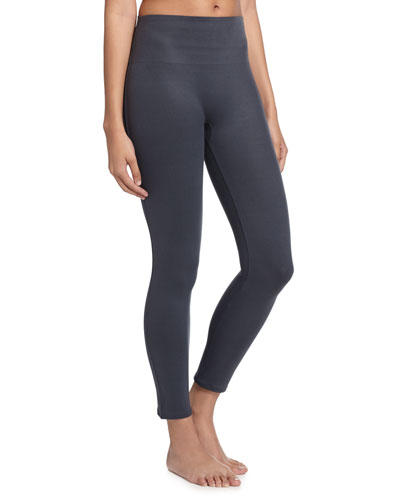 Essential Cropped Leggings, Steel