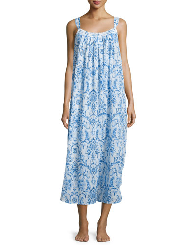 Cotton Lawn Long Gown