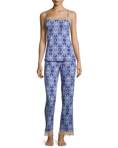 Aladdin's Lamp Printed Pajama Set
