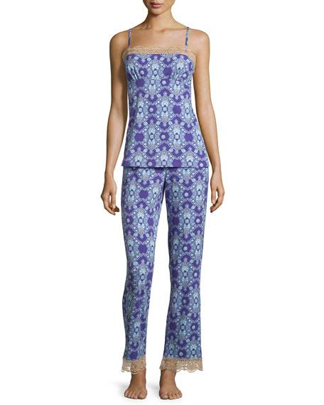 Bedhead Aladdin's Lamp Printed Pajama Set