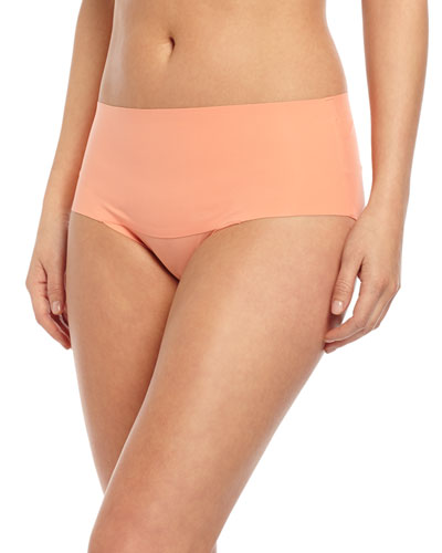 Undie-Tectable® High-Waist Bikini Briefs, Coral Crush