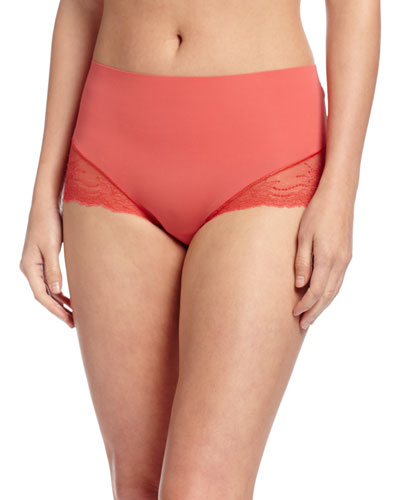 Undie-Tectable® High-Waist Lace Hipster Briefs