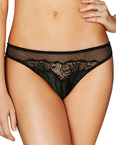 Ellie Leaping Thong, Leopard