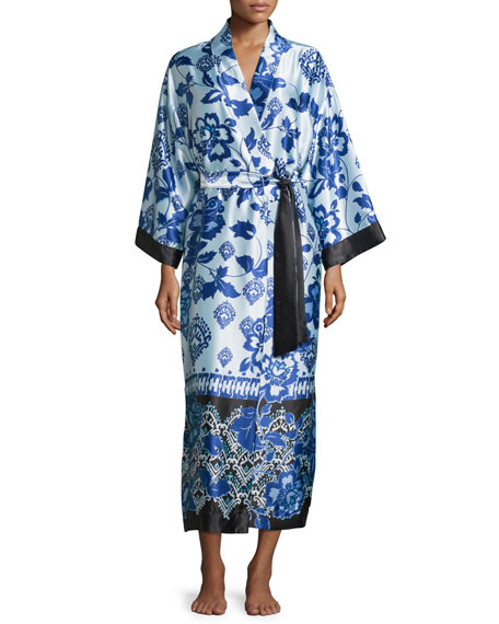 Signature Long Belted Robe