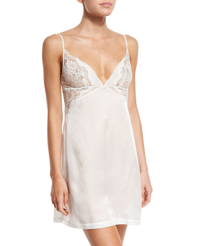 Jazztime Lace-Trim Nightgown