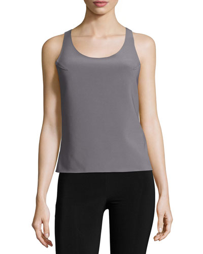 Racer Active Combo Top, Slate