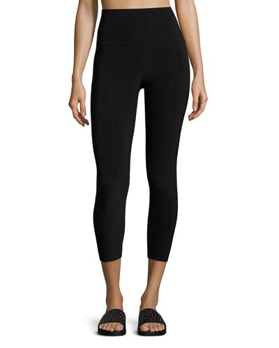 High-Rise Cropped Sport Leggings